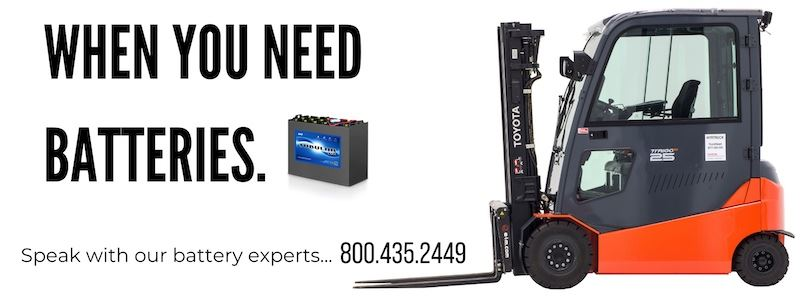 Parts forklift batteries   New and Used Forklifts in Ohio. Williams Toyota Lift