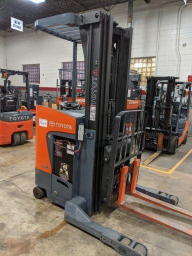 3,500 LBS Cap. Electric<br>Reach Truck<br>2014<br>ID#: E006963