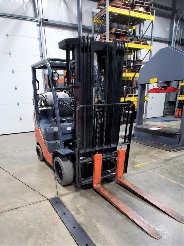 5,000 LBS Cap. LP<br>Cushion Forklift<br>2014<br>ID#: E003177