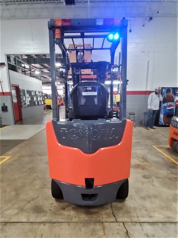5,000 LBS Cap. Electric <br>Cushion Forklift<br>2015<br>ID#: E001452