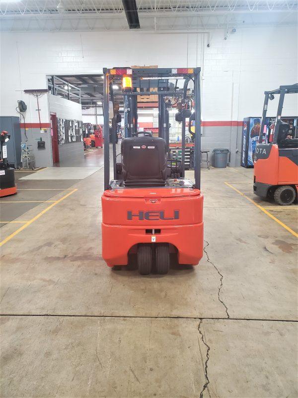 4,000 Cap. Electric<br>Pneumatic Forklift<br>**NEW** 2021<br>CPD20SQ-GB2Li