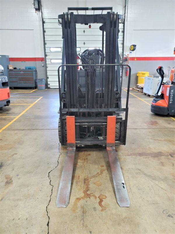 5,000 LBS Cap. Electric<br>Cushion Forklift<br>2014<br>ID#: E000617