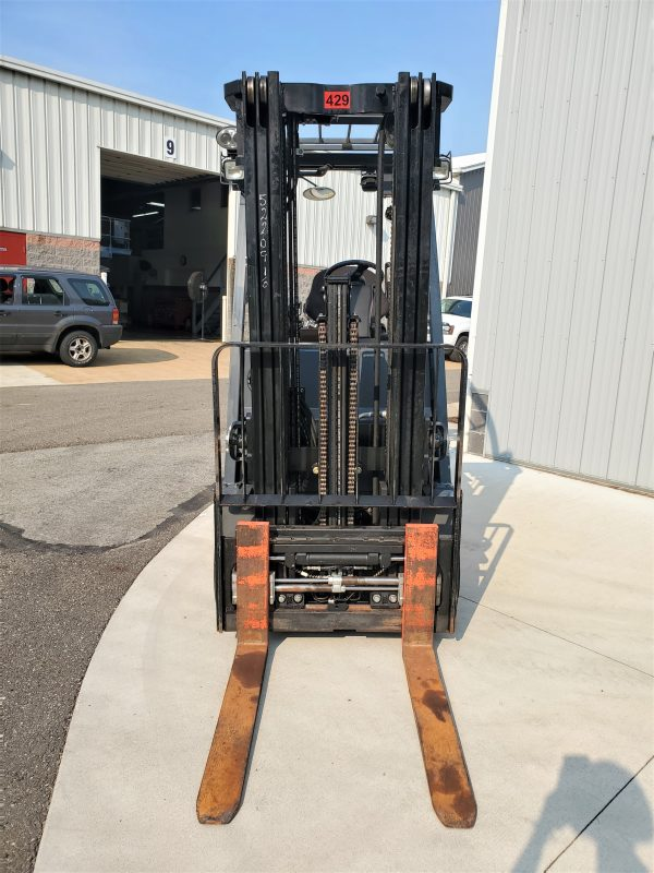 5,000 LBS Cap. Electric<br>Cushion Forklift<br>2015<br>ID#: E009607