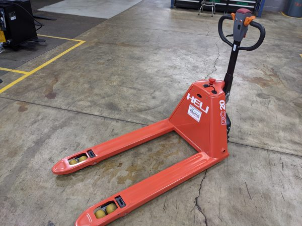 4,400 Cap. Semi-Electric<br>Walkie Pallet Jack<br>**NEW** 2021<br>LIMITED TIME PRICING