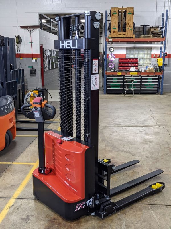 2,640 LBS Cap. Electric<br>Walkie Stacker<br>**NEW** 2021<br>LIMITED TIME PRICING