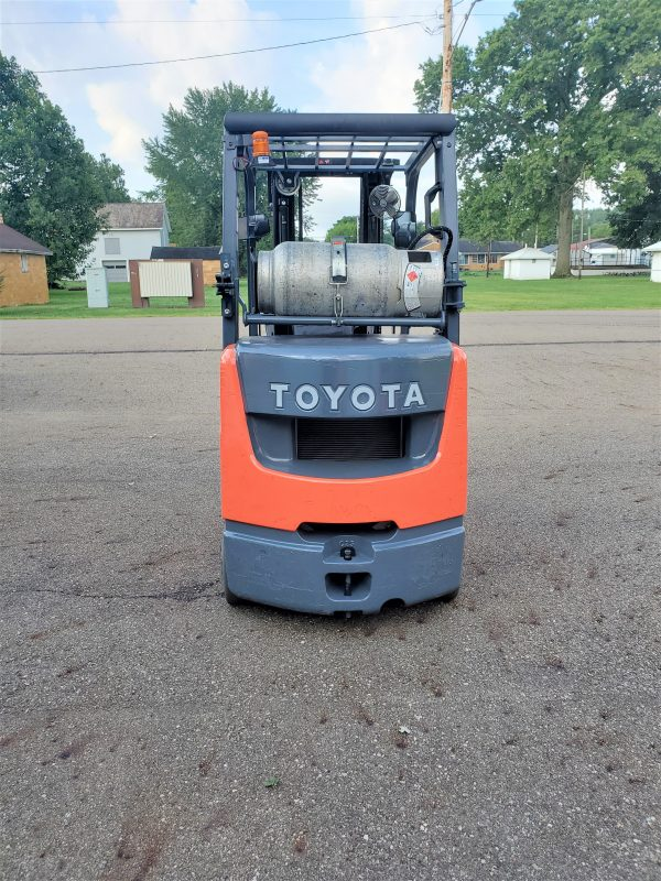 5,000 LBS Cap. LP<br>Cushion Forklift<br>2017<br>ID#: E004622