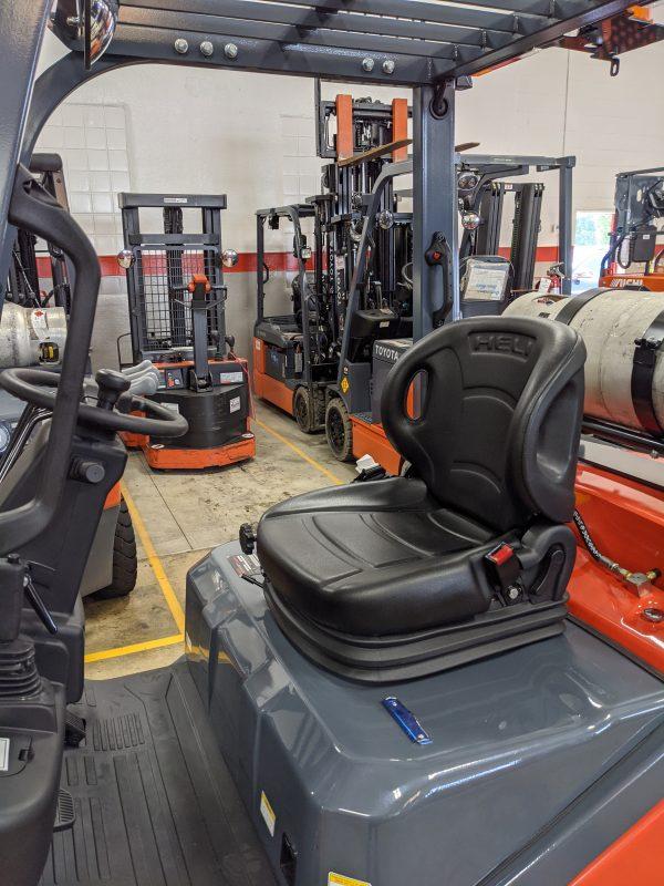 5,000 Cap. LP<br>Cushion Forklift<br>**NEW** 2021<br>CPYD25C-KU1H