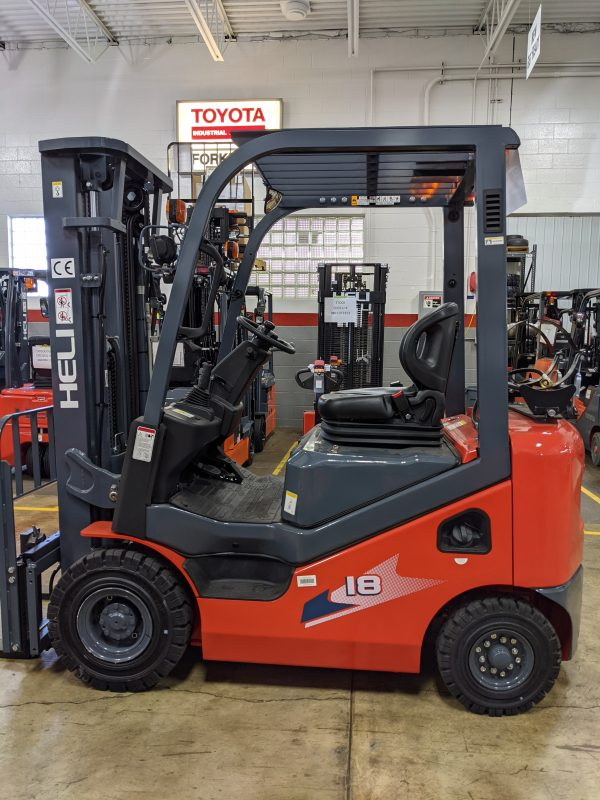 3,500 Cap. Dual Fuel<br>Pneumatic Forklift<br>**NEW** 2021<br>Heli CPQYD18-KU1H