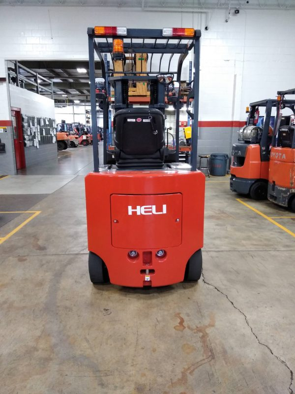 5,000 LBS Cap. <br>Cushion Forklift<br>*NEW* 2021 *NEW*<br>ID#: E010020
